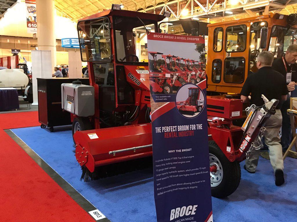 Broce Bw 260 3 Wheel Sweeper Broom Broce Broom