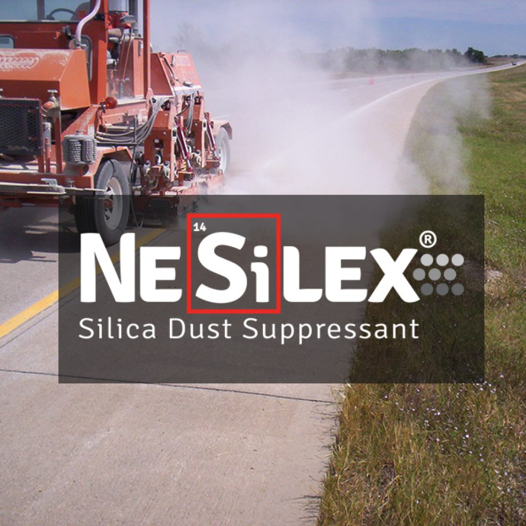 Broce Manufacturing and Chemtek form new partnership. NeSilex is used to suppress silica dust in construction equipment