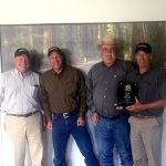 GW Van Keppel team Matt Pettit, John Morton, Kevin Kientz and Bill Walken