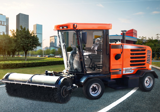 FMJ470 Front Mount Sweeper